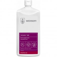 Velodes gel - żelowy preparat do higienicznej i chirurgicznej dezynfekcji rąk - 500 ml