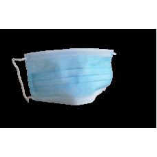 Maseczka medyczna trójwarstwowa niebieska 10 SZT