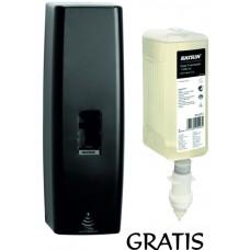 Dozownik do mydła Touchfree 1000 ml czarny + wkład 1000 ml