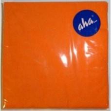 Serwetki AHA 33X33 cm - pomarańczowe