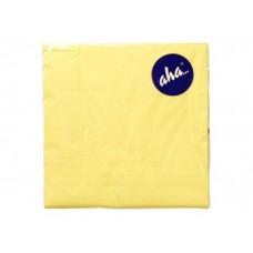 Serwetki AHA 33X33 cm - żółte