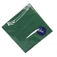 Serwetki AHA 33x33 cm - ciemno zielone