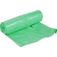Worki na śmieci LDPE Zielone 35 L / 15 Sztuk - rolka