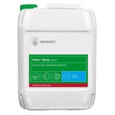 Velox Spray Medisept gotowy do użycia alkoholowy preparat do szybkiej dezynfekcji powierzchni - 5 l